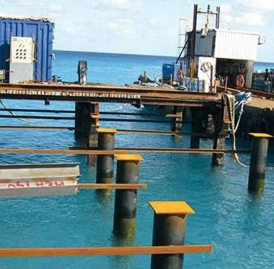 RECONSTRUCTION WHARF BELEP 2010